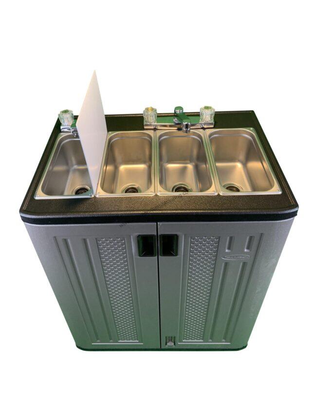 Vending Cart Sink ( Wash. Rinse, Sanitize)