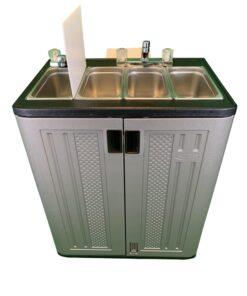 Propane Large Bowl Sink 12v